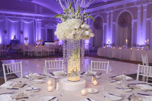 Свадьба в белом цвете с розовым