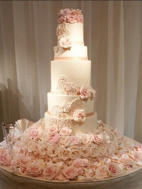 Роскошней к свадьбе торт фото