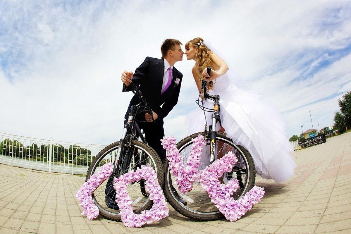 Самые необычные креативные свадебные фотографии