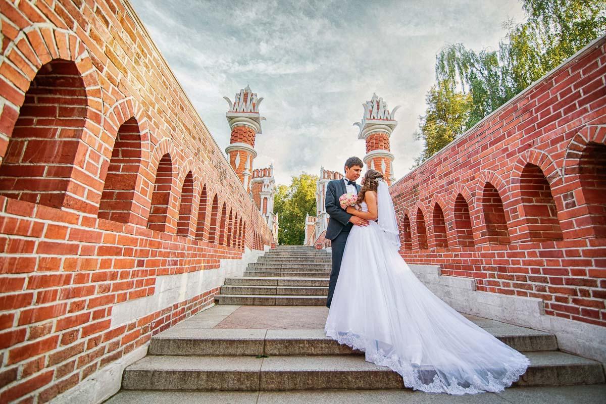Фото свадьба парк царицыно