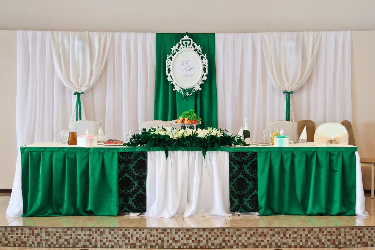 честно свадьба в зеленых тонах фото этой хрущев ходу