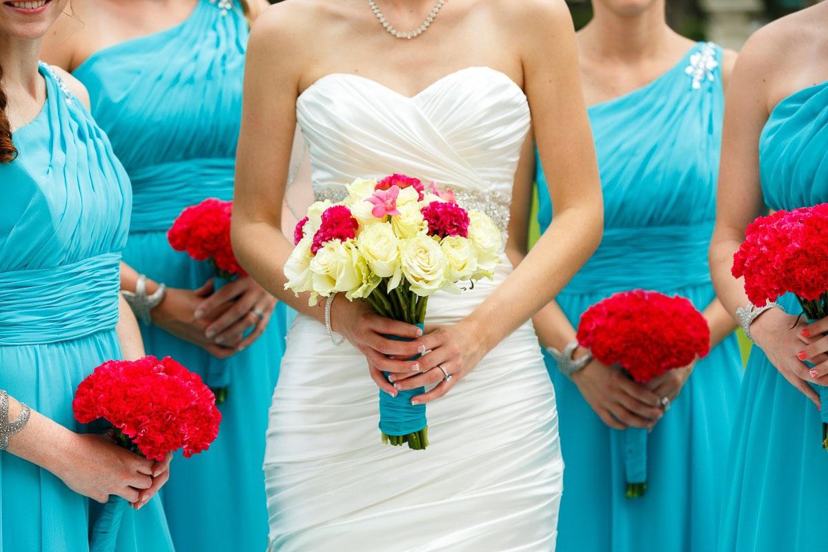 Свадьбы в голубом стиле 26