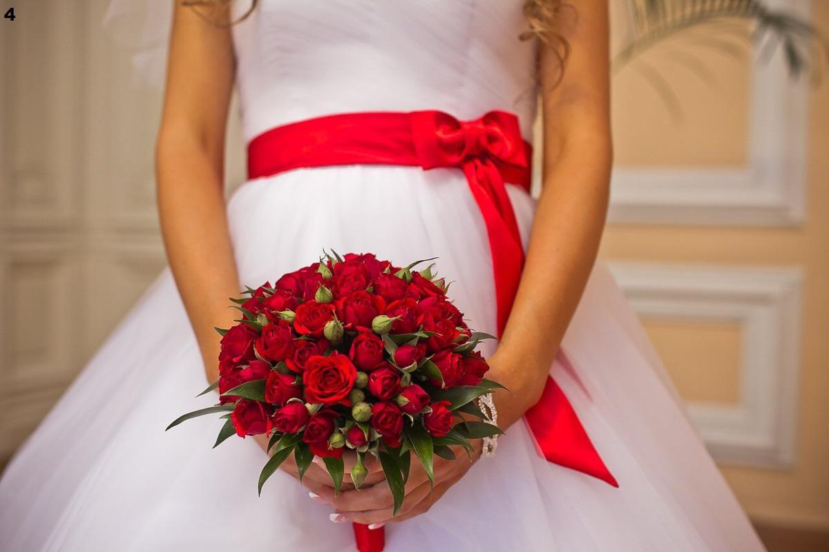Свадьба розово красная фото