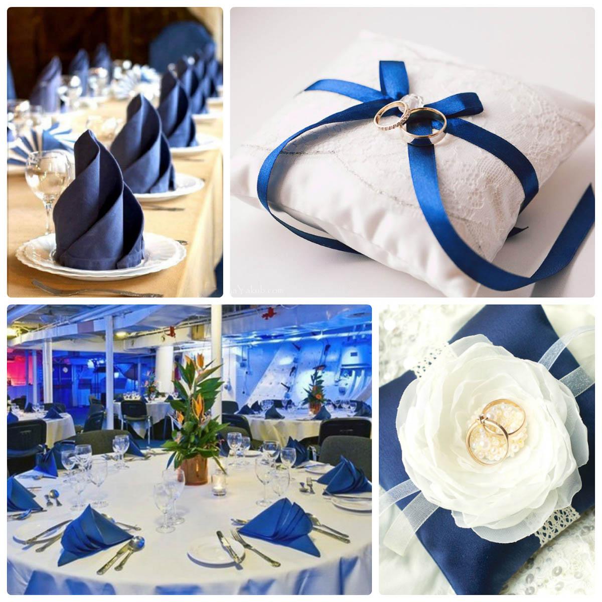 свадьба в синем стиле идеи фото